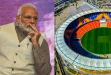 Photo of Stadium Named After Modi Shrunk to Only Two Day Match