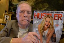 Photo of Founder of Pornographic Magazine Hustler, School Dropout, Died