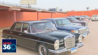 Photo of Classic Mercedes Benz Show in Egypt's Cairo