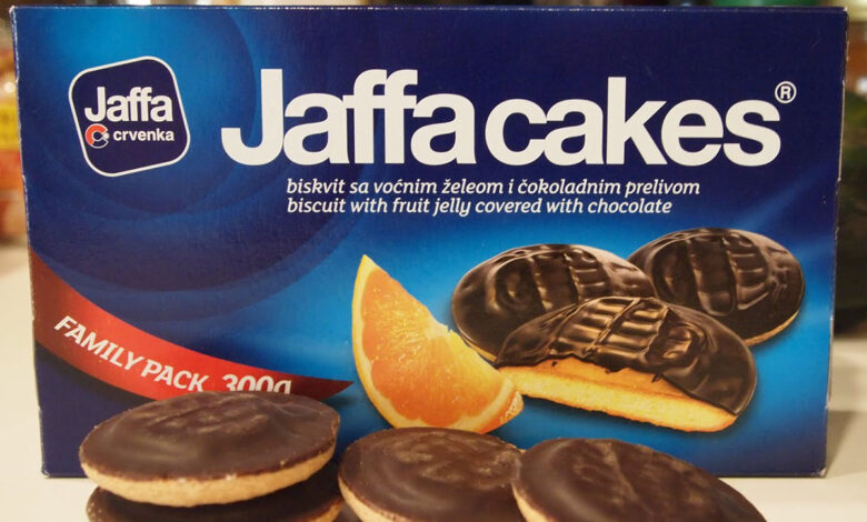 Police Officer Jaffa Cakes
