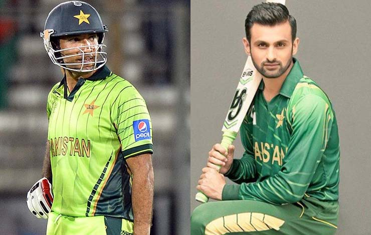 Shoaib Malik named as replacement for Sohaib Maqsood who has been ruled out of the ICC T20 World Cup due to back injury